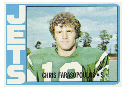 Chris Farasopolous, 1972 Topps #36